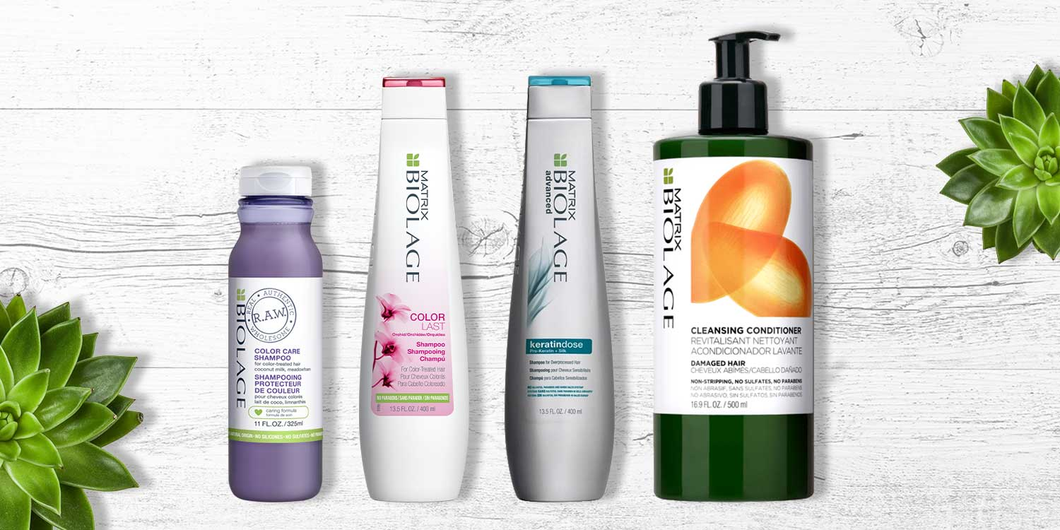 The Best Shampoos For Your Color Treated Hair Matrix