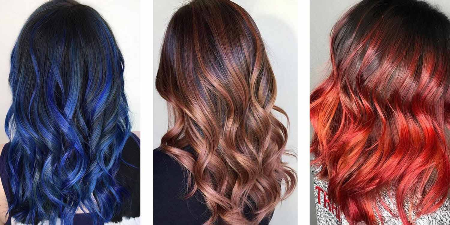 15 Hair Highlight Ideas For Dark Hair Matrix