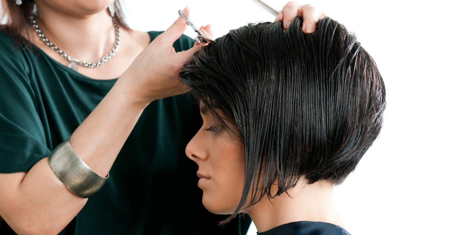 hair styling and hair cutting terms and definitions