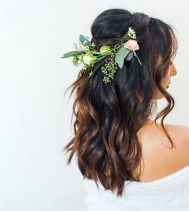 Regal Wedding Hairstyle