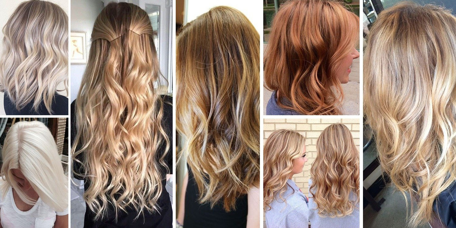 Hair Blonde color pictures photo